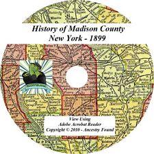 1899 History & Genealogy Madison County New York Ny