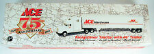 "Ace Hardware 75th Anniversary Freightliner Tractor w/ 48"" Trailer 1:54 Free Ship"