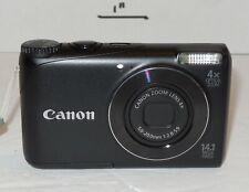 Canon PowerShot A2200 14.1MP Digital Camera - Black