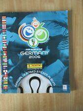 Panini Germany 2006 World Cup Complete Album & 6 Extra Loose Stickers UK Version