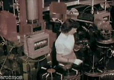 WURLITZER JUKEBOX FACTORY & RCA VINYL RECORDS FACTORY 1950's FILMS ON DVD