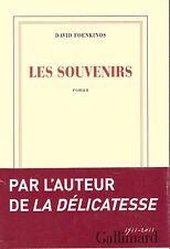 DAVID FOENKINOS LES SOUVENIRS + PARIS POSTER GUIDE