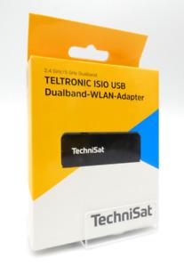Technisat TELTRONIC ISIO USB-Dualband-WLAN Adapter schnelle Funkverbindung OVP