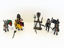 Playmobil - Knight with Squire 5805 & Wolf Clan Knights 5888 BARBARIAN