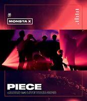 MONSTA X JAPAN 1st LIVE TOUR 2018 PIECE Blu-ray Japan UMXE-1001 4988031299173