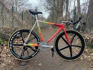Xentis Mark II 2 Track Laufradsatz Laufräder Wheelset Fixie Fixed Bahnrad Gear