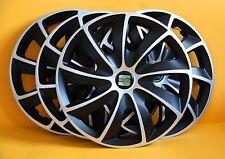 """SEAT Alhambra, Leon, Toledo, etc... 4x16"""" rueda Adornos/cubiertas, 16 Pulgadas Tapacubos"""