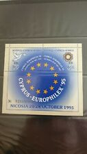 Cyprus - EUROPHILEX 95 - Philatelic Exhibition Nicosia Special M/S