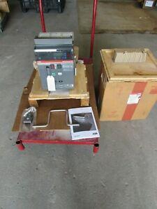 ABB SACE E2N-A-16, Emax CIRCUIT BREAKER, W/ PR112/P-A TRIP, 1600A/600V/3P , NEW!