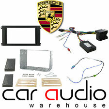CTKPO01 Double DIN Car CD Stereo Fascia Fitting Kit for Porsche Cayenne 07-10