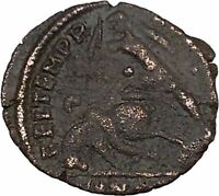 CONSTANTIUS II Constantine the Great son Ancient Roman Coin Battle Horse i42679