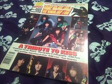 Kiss Starline Magazine Vol. 2,No. 1 1987