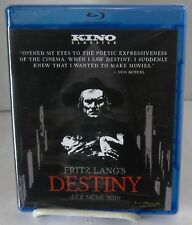 Destiny (Blu-Ray Disc Kino Classics Aug 2016) 1921 Fritz Lang New Sealed