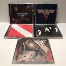 Van Halen - 5 CD Lot - 1, 2, Diver Down, OU812, A Different Kind Of Truth