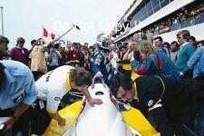 Alain Prost Renault RE40 Winner French Grand Prix 1983 Photograph 4