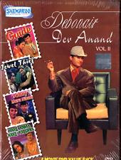 DEV ANAND VOL 2- 4 DVD BOX SET. GUIDE , JEWEL THIEF,HARE RAMA HAR  BOLLYWOOD DVD