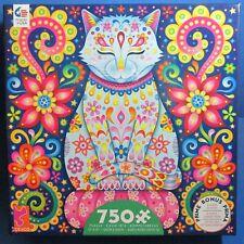 Groovy Animals Zen Cat 750-Piece Puzzle with Poster - Ceaco