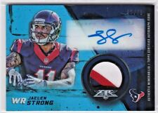 Jaelen Strong Houston Texans Jaguars 2015 Topps Fire Rookie Patch AUTO RC /75