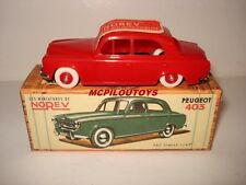 NOREV REEDITION PEUGEOT 403 ROUGE au 1/43°