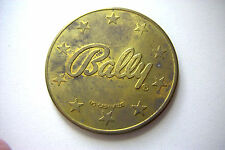 BALLY $5 TEST  TOKENS  FOR 'BLACK GOLD'  VINTAGE  SLOT  MACHINE - 9 pc. lot