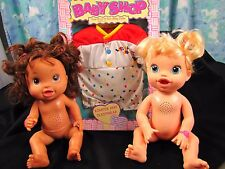 LOT 2 Baby Alive WORKS Interactive My Baby All Gone Make Me Better New Clothes