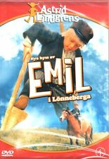 SCHWEDISCH: DVD Astrid Lindgren, Nya Hyss Av Michel Emil i Lönneberga NEU
