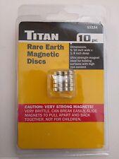 Titan 11134 Rare Earth Magnetic Discs 10pc