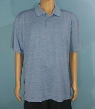 Haggar Clothing Blue Polo Golf Shirt Size 2XL 2XLarge