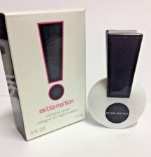 Exclamation Cologne Spray by Emeraude, 0.5 Fluid Ounce for Women NEW IN BOX,