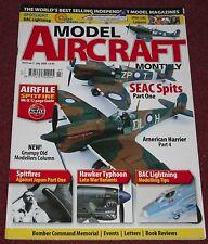 Model Aircraft Monthly 8.7 Hawker Typhoon,Spitfire,AV-8B,Lightning