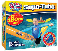 NEW Britz Wahu Pool Party SUPA SUPER TUBE 2 Handles Inflatable Fun -180cm BMA662
