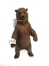 X30) NEU PAPO 50153 Bär Grizzlybär Grizzly Safari Tierfiguren Waldtiere