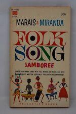 Folk Song Jamboree Marais & Miranda Ballantine Books 1960 (African Veldt Songs)