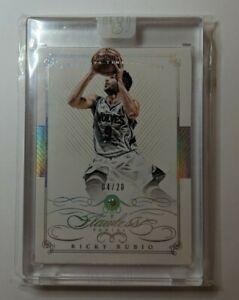 Ricky Rubio 2014/15 flawless basketball diamond /20 Timberwolves NBA