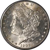 1902-S Morgan Silver Dollar PCGS MS63 Nice Eye Appeal Nice Luster Nice Strike