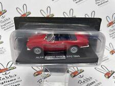 """DIE CAST """" ALFA ROMEO GIULIA GTC 1965 """" SPIDER & CABRIO 1/43"""