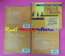 CD COUNTRY & WESTERN Compilation COLLECTION BOX 3 CD no mc vhs dvd (C36)