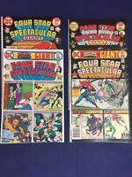 DC COMICS: Four Star Spectacular #1,2,5,6 - Giant issue - Superman
