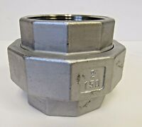 """New 2"""" FNPT Union 304 Stainless Steel Class 150"""