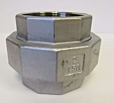 "New 2"" FNPT Union 304 Stainless Steel Class 150"