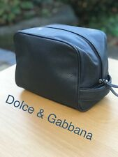 🆕D G Dolce Gabbana Mens Toiletry Washbag Travel Bag Navy FREE DELIVERY eb880121ff66f