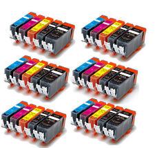 30 PK Ink Cartridges Combo Set fits PGI-225BK CLI-226 MG5220 MG5320 MX882 MX892