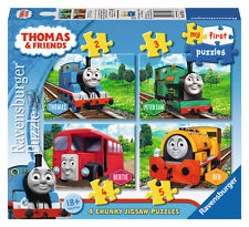 CHILDRENS THOMAS & FRIENDS MY FIRST PUZZLE 2, 3, 4, & 5 PIECE JIGSAW PUZZLES