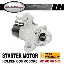 Holden Starter Motor Commodore Gen4 VZ VE LS2 LS3 V8 6.0L Crewman Monaro HSV GTS