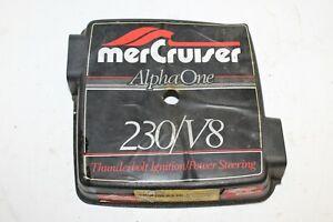 MerCruiser Alpha One 230 / V8 Plastic Flame Arrestor Carburetor Top Cover