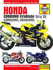 Paper CBR Honda Motorcycle Manuals & Literature