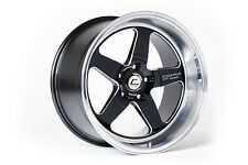 COSMIS RACING XT-005R 18X10 +20MM 5X114.3 BLACK W/ MACHINED LIP 1 WHEELS/RIMS