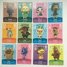 GENUINE NA Animal Crossing Amiibo Cards | Series 4 | Choose | 301 - 400 | NEW