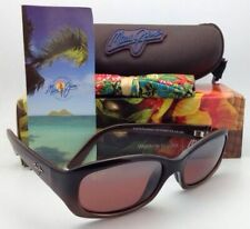 MAUI JIM Punchbowl Sunglasses MJ R 219-01 Chocolate Frames w/Rose Polarized Lens