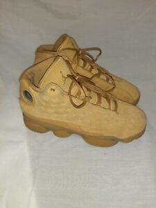 Nike Air Jordan 13 Retro BG Sz 6Y Wheat Elemental Gold 414574-705